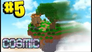 My Island Will NEVER Be The Same - Minecraft Cosmic Sky #5 | JeromeASF