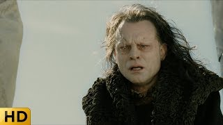 Грима Гнилоуст убивает Сарумана. Властелин колец: Возвращение короля.