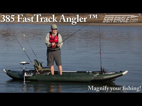 Sea Eagle 385fta FastTrack™ Angler iK (inflatable kayak)