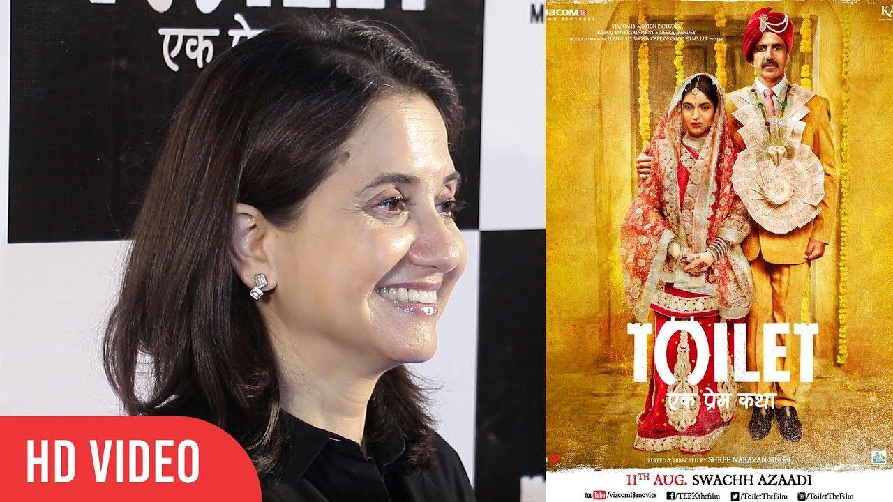 Anupama Chopra Review On Toilet Ek Prem Katha