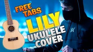 Download Alan Walker – Lily (ukulele guitar cover, free tabs and chords)