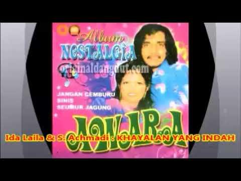 Ida Laila & S Achmadi -- KHAYALAN YANG INDAH  -- Dangdut lama tahun 1970an  --  1,1