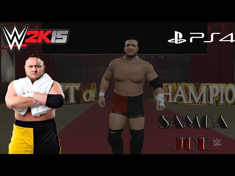 WWE 2K15 Samoa Joe CAW Formula+Entrance & Finisher