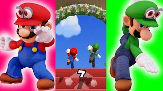 Mario Party 9 Mario vs Luigi (Step It Up - Master Difficuty Tie) #594