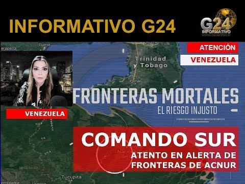 G24 VENEZUELA HOY- ACNUR ALERTA DE FRONTERAS DE MUERTE -ALTA MAR VENEZOLANOS MUEREN NAUFRAGIOS