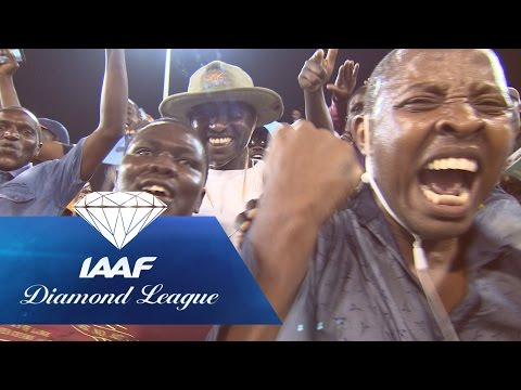 Fans creates an electric atmosphere at the Diamond League meeting in Doha 2016