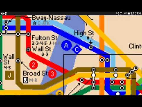 Mta Map:1987 Edition