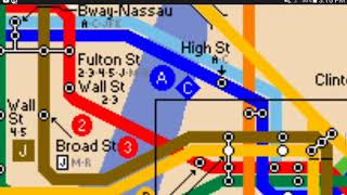 Mta map:1987 edition