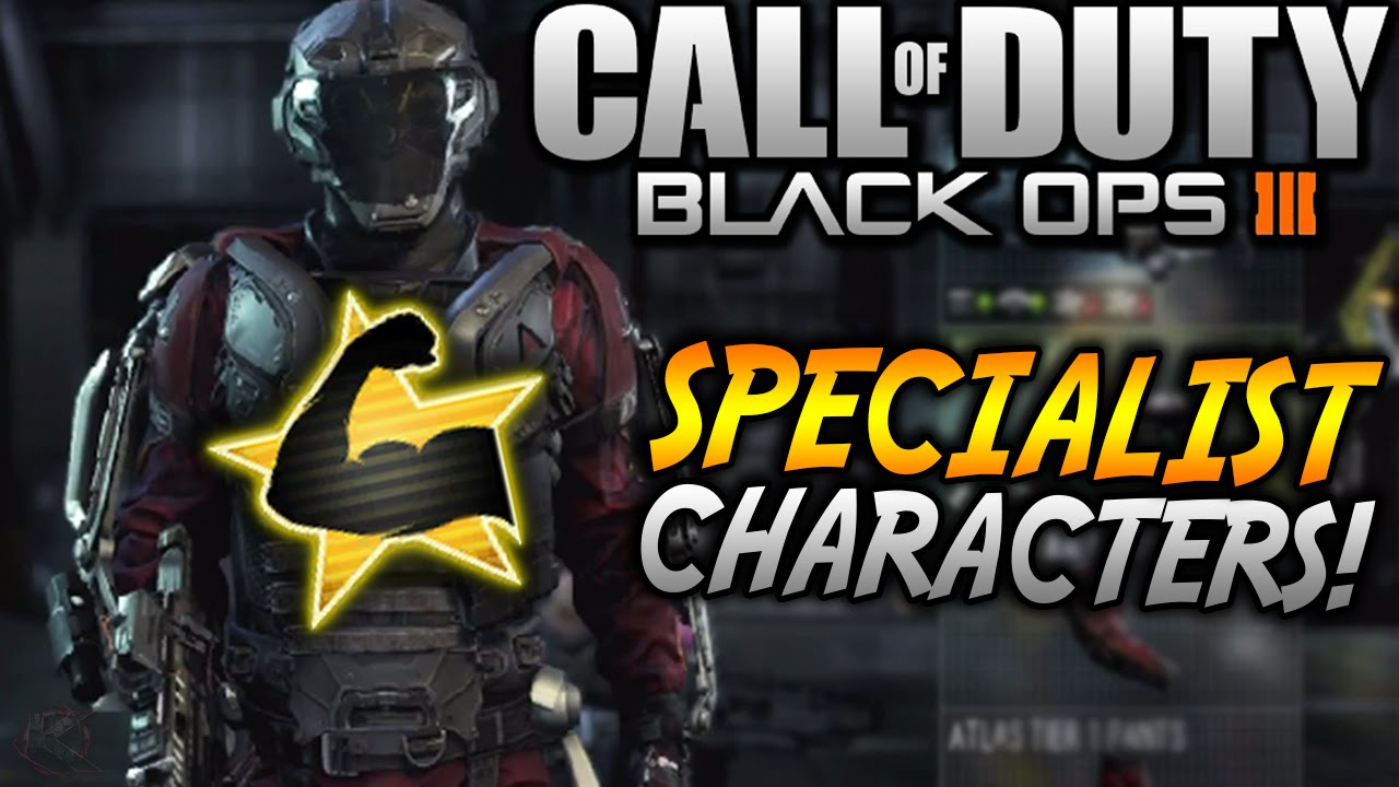 Black Ops 3 Specialist Characters New Specialist Character System Rank Up Cod Bo3