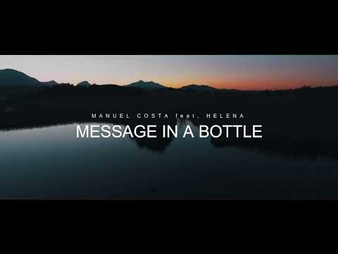 Manuel Costa ft Helèna - Message in A Bottle [Lyrics Video]