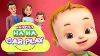 Nah Nah Ha Ha - Carplay | Baby Ronnie Rhymes | Videogyan 3D Rhymes | Cartoon Animation For Kids