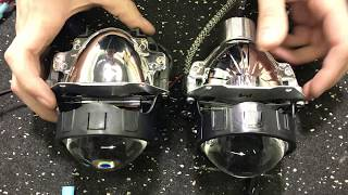 DMEX vs Morimoto MLED - Bi-LED Projector Comparison
