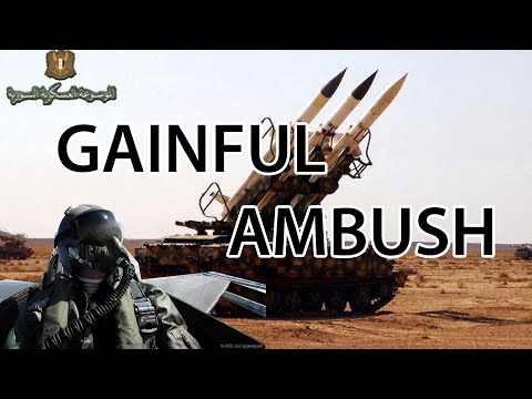 Falcon 4 BMS Syrian Gainful Ambush south of Damascus