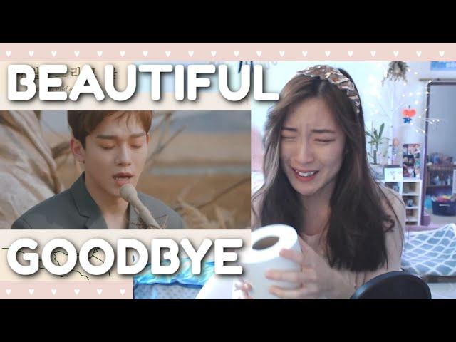 CHEN 첸 BEAUTIFUL GOODBYE Official MV Reaction (사월이 지나면 우리 헤어져요) + LIVE April Busking Performance