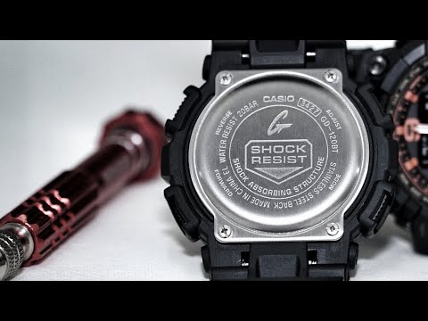 Casio 3427 Module - G-Shock GD-120 Series Watch Set-up, Test Screen And Functions Demo.