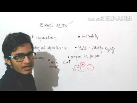 Ethical issues in biotechnology.