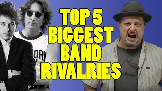 Top 5 Band Rivalries   Marty Music