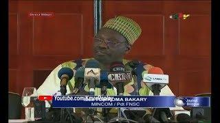 CONFÉRENCE DE PRESSE: ISSA TCHIROMA réagi face aux déclarations du Pr Maurice KAMTO thumbnail