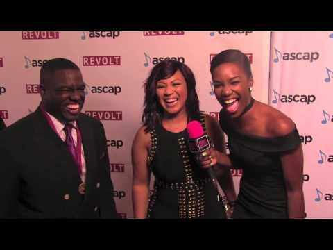 Erica Campbell @ The ASCAP Awards | Black Hollywood Live