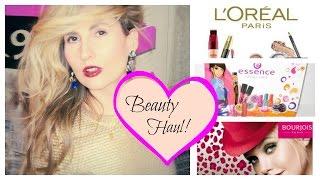 Beauty Haul: Bourjois, L'Oreal, Garnier, Essence, Essie...