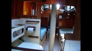 Sirocco forward cabin tour