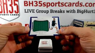 2023 Panini National Treasures Soccer  4 Box Case Break #1 [Personal Case]