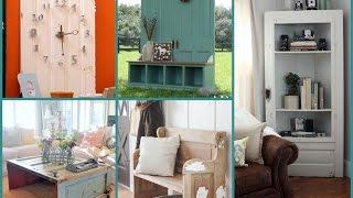 Repurposed Furniture Ideas – Old Door Recycling