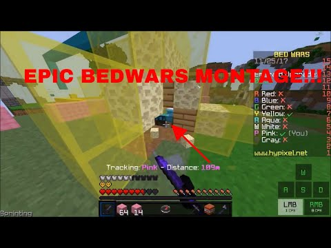 MY TOP BEDWARS MOMENTS! | Hypixel Bedwars Montage