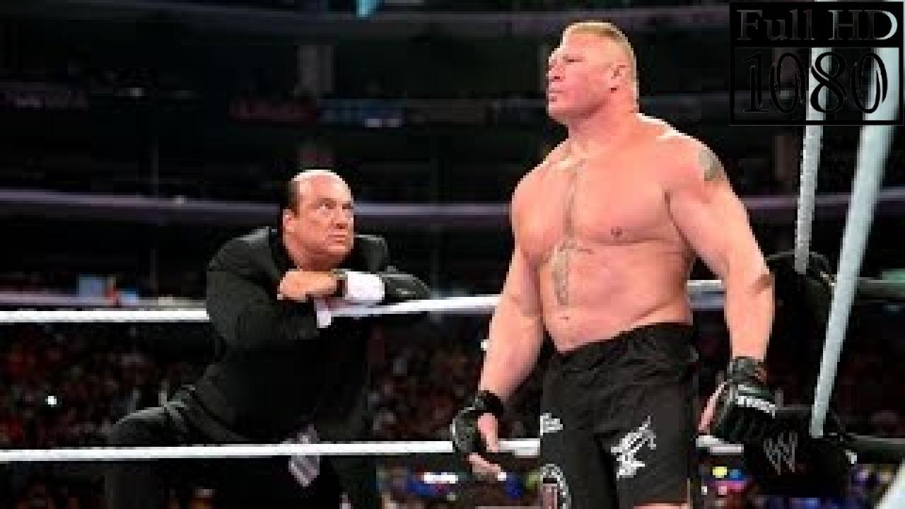 Brock Lesnar vs Rusev Full Match 2016 WWE Mexico 2016 !!!