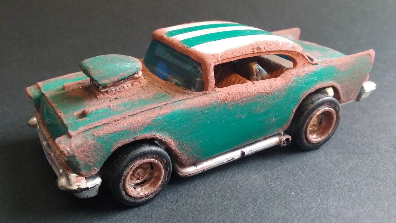 Hot Wheels Custom Barn Find