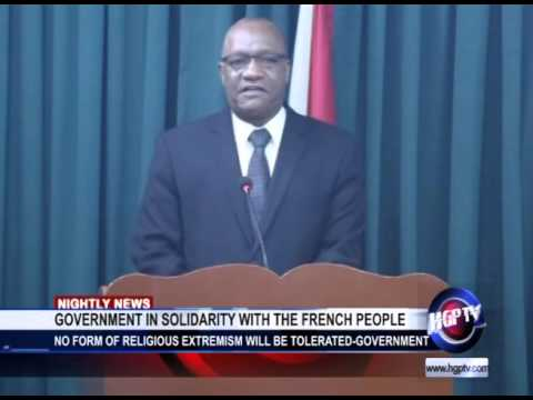GOVERNMENT IN SOLIDARITY WITH THE FRENCH PEOPLE
