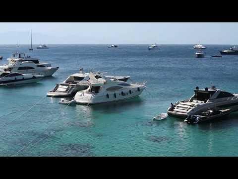 Explore Mykonos Greece beach town galleries Cyclades Aegean Sea Greek islands top ten best beaches