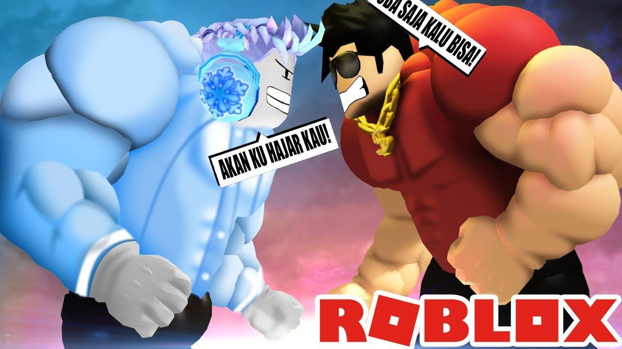ADEL NOOB VS BACON PRO PERTARUNGAN SENGIT DI ROBLOX!!...