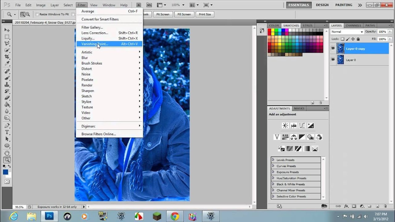 How to fix color cast in photoshop elements - Photoshop Removing Extreme Color Casting
