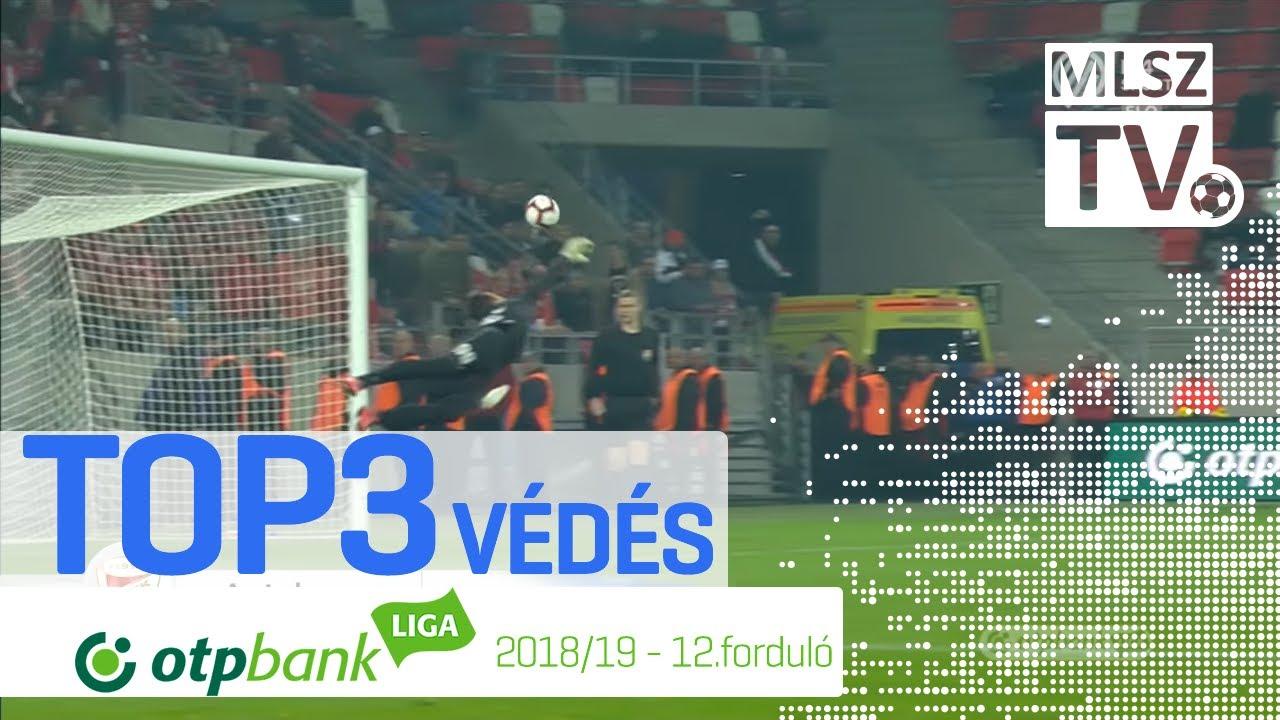 TOP 3 VÉDÉS – 12. forduló | OTP Bank Liga | 2018/2019