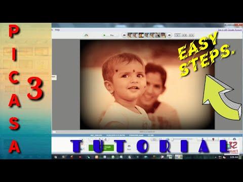 Picasa 3 Photo Editing/How To Edit Photos In Picasa.