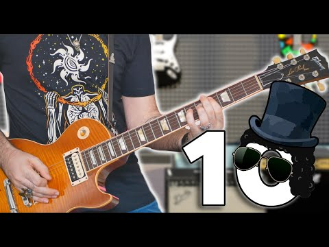 Top 10 Riffs: SLASH (ft Niko Slash)