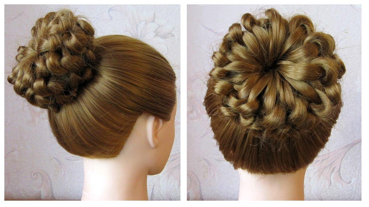 Tutoriel coiffure simple cheveux long/mi long 🌺 Chignon tresse facile 🌺 Coiffure tresse en ...