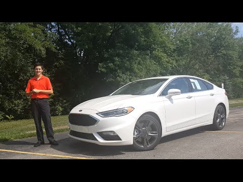 2017 Ford Fusion Sport Review What S New