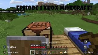 Minecraft XBOX ONE S 2020   Epiṡode 1 'A New World'