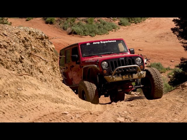 Jeep Off-Roading in Big Bear California with Don Alexander Part 1