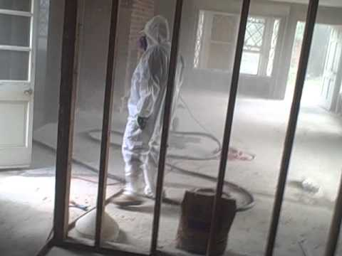 Soda Blasting By All Dry Water Damage Experts; Mold Remediation.AVI