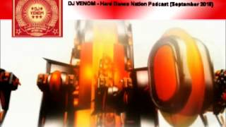 DJ Venom Hard Dance Nation Podcast (September 2015)