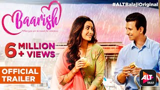 Baarish | Official Trailer | Sharman Joshi | Asha Negi | ALTBalaji