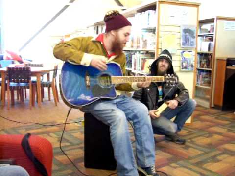 Andy the Doorbum - Mountain Island library opening