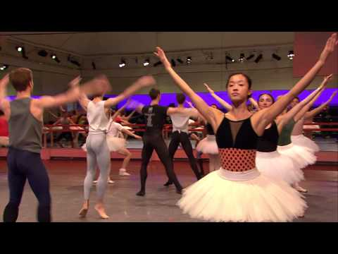Alice's Adventures in Wonderland rehearsals - The Card Scene (The Royal Ballet)