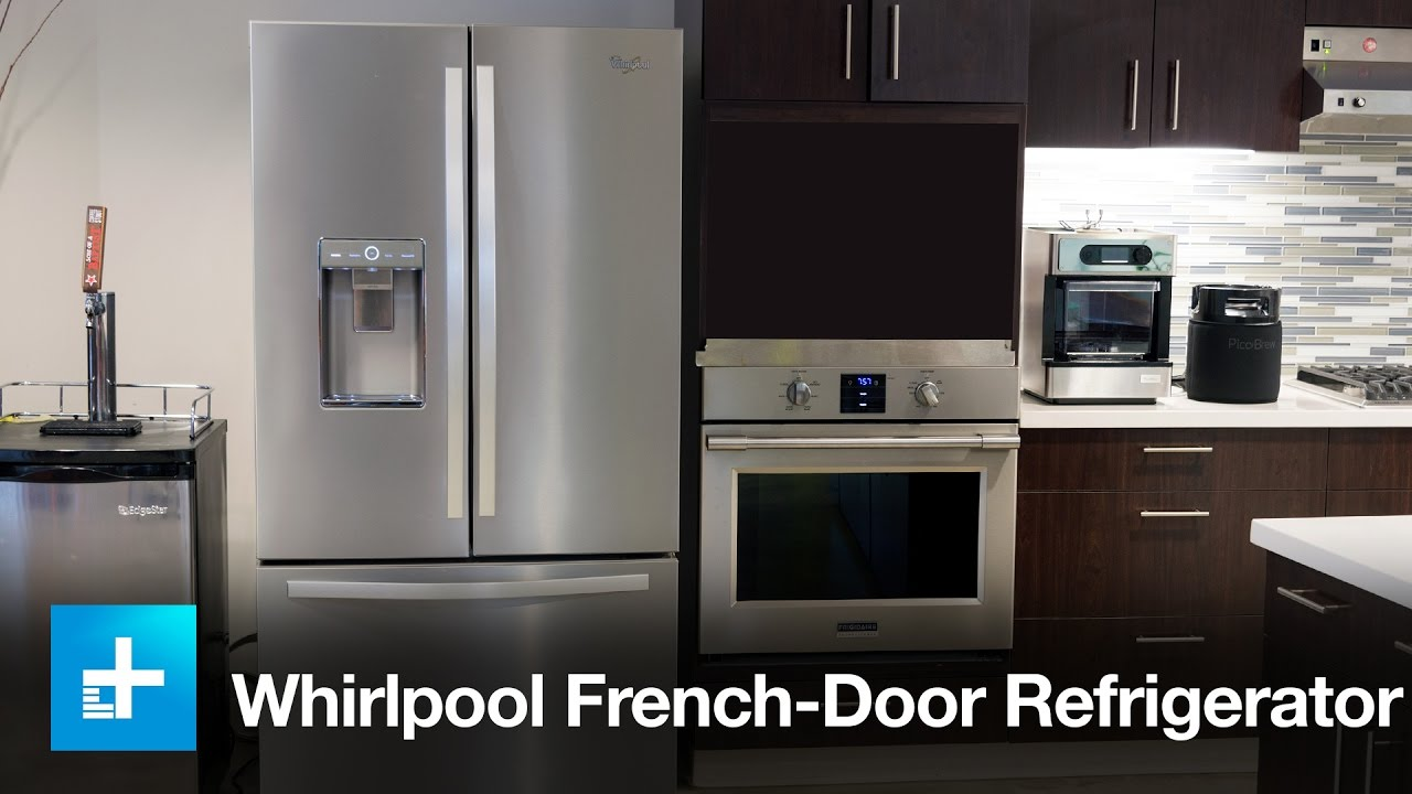 Whirlpool Gold French Door Refrigerator Reviews Part - 37: Whirlpool 36-inch French Door Refrigerator - Hands On Review