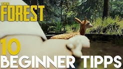 10 ANFÄNGER TIPPS! - The Forest - v.0.73b