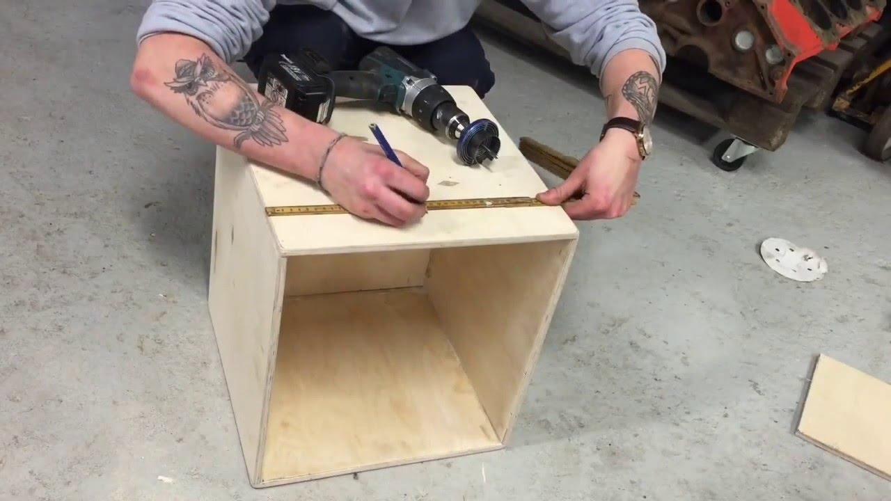 DIY & INDRETNING // SÃ¥dan bygger du kasser til opbevaring - YouTube