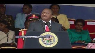 Rais Kenyatta adokeza kuwa mafisadi wataadhibiwa vikali